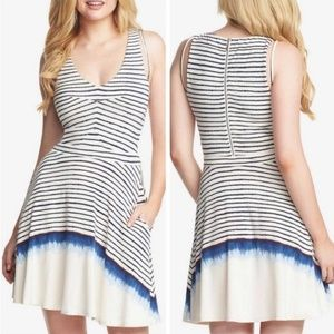 Tart Collections | NWOT Madelyn Striped Midi Dress